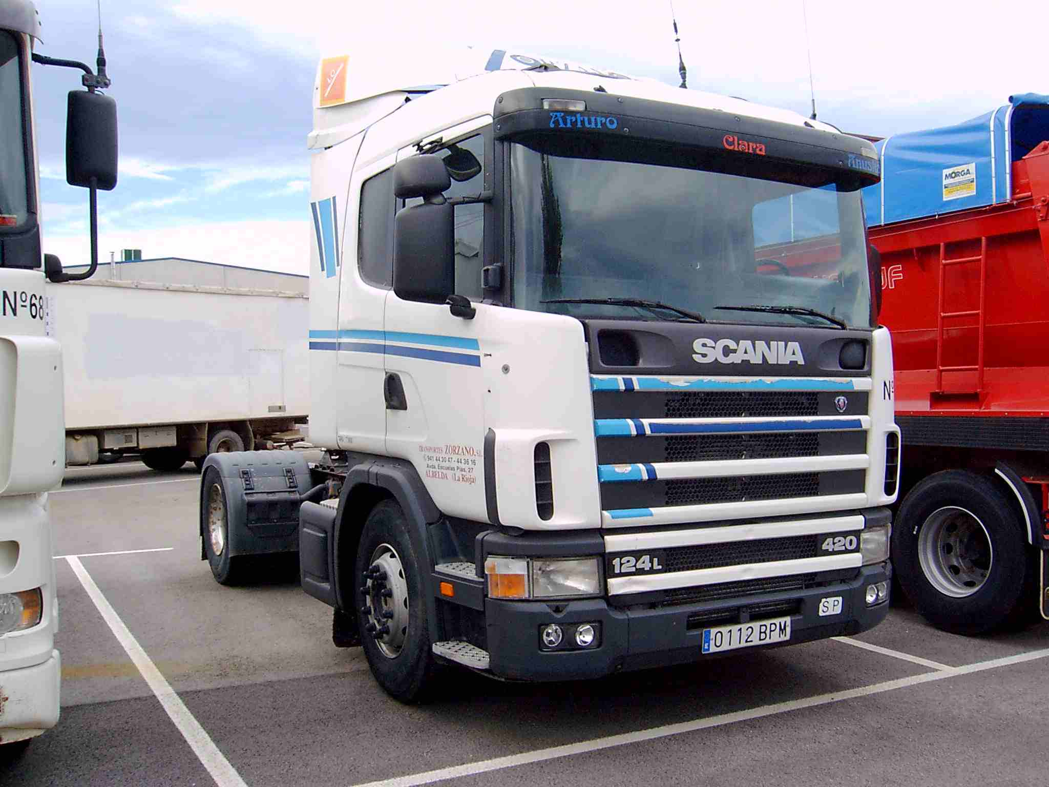 24000-SCANIA-R124 420-Tractoras