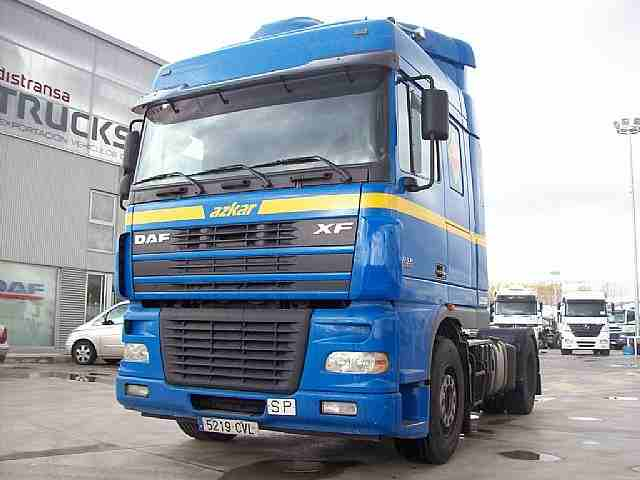 Tractoras DAF FT 95 XF 480 2004