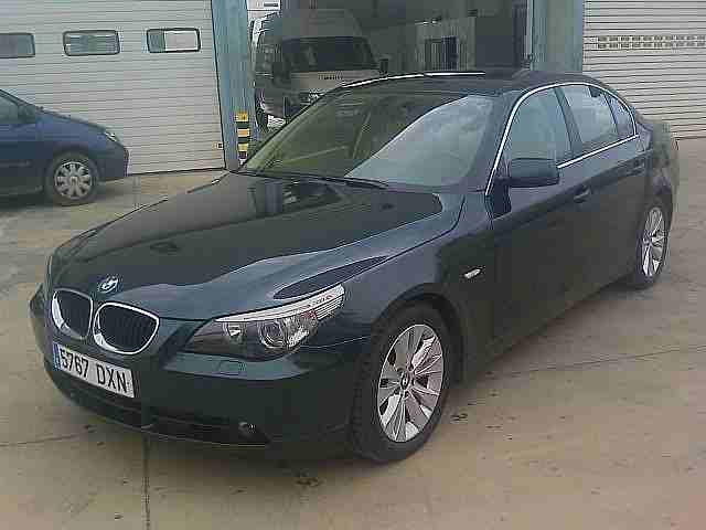 Vehiculos BMW 520D MAN 2006