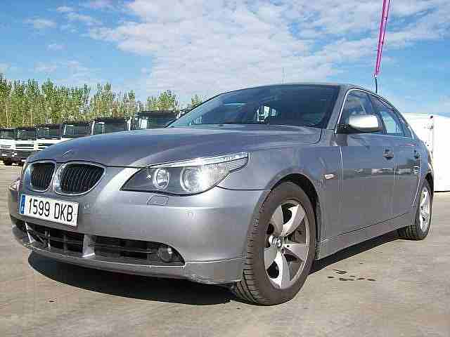 Vehiculos BMW 525 D MAN 2005