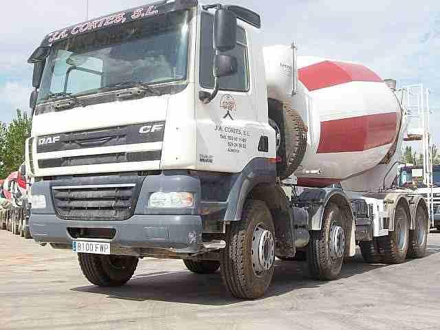 Camion Hormigonera De Segunda Mano Camion Hormigoneradaf Fad Cf 85 410 2007